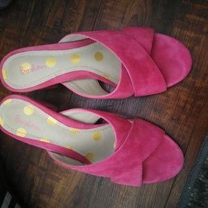 Bonden pink sandals
